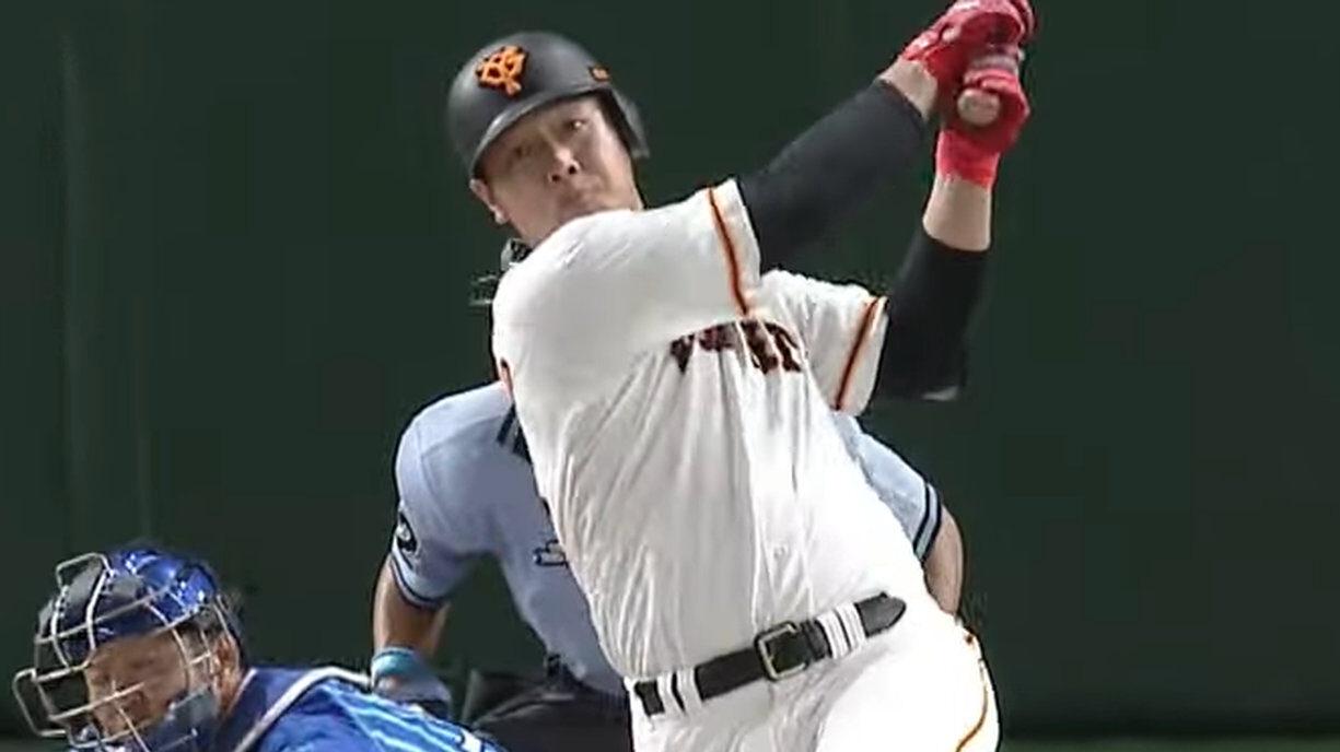 巨人岡本和真さん、10試合で5本