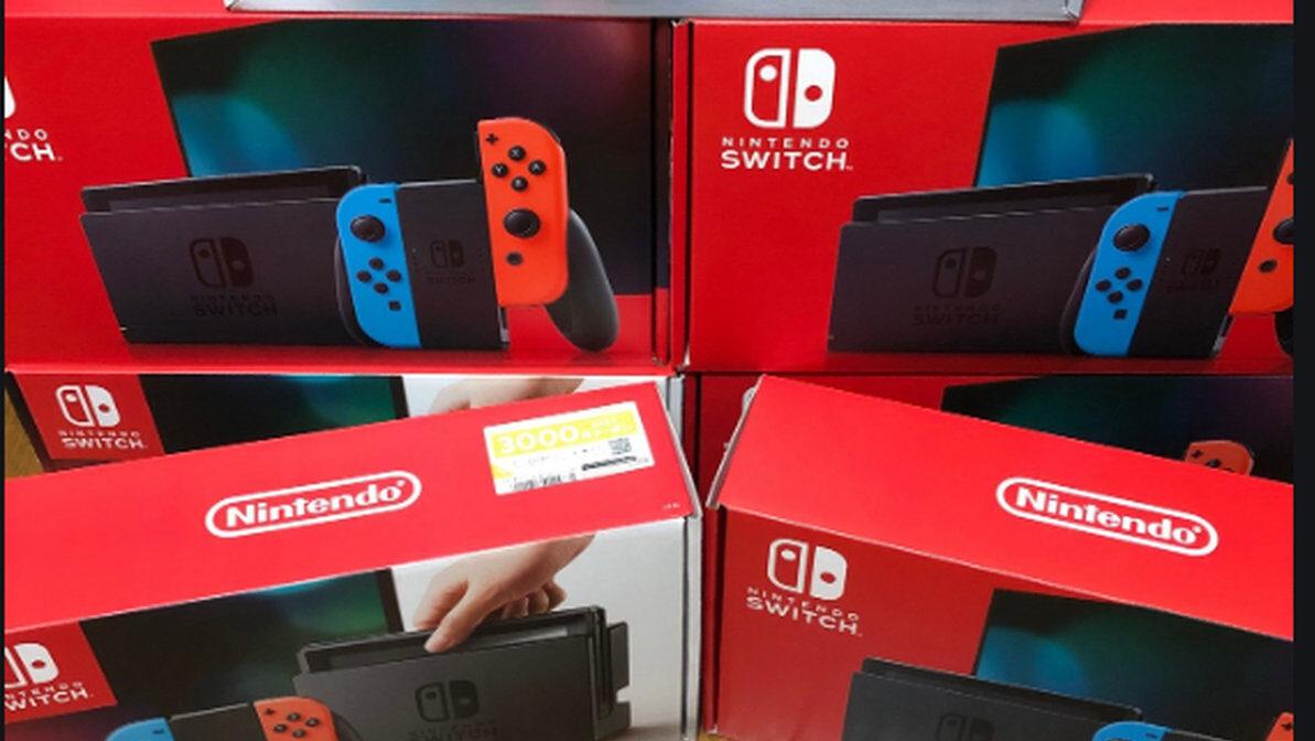【悲報】任天堂Switchさん、未だに品薄商法で転売屋を野放しにしてしまう、定価より2万円高い