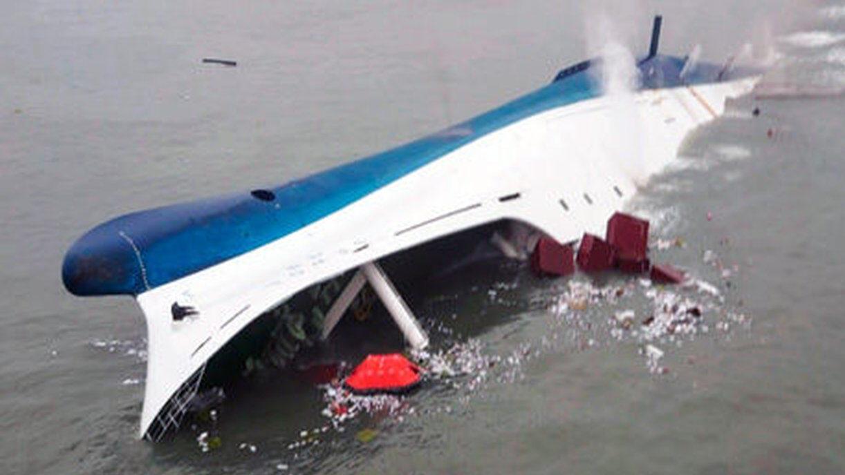 韓国 セウォル号沈没事故(修学旅行の高校生300人死亡)