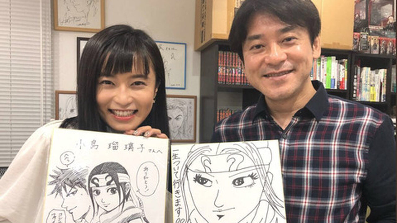 小島瑠璃子「一生ついていきます!!原先生へ」