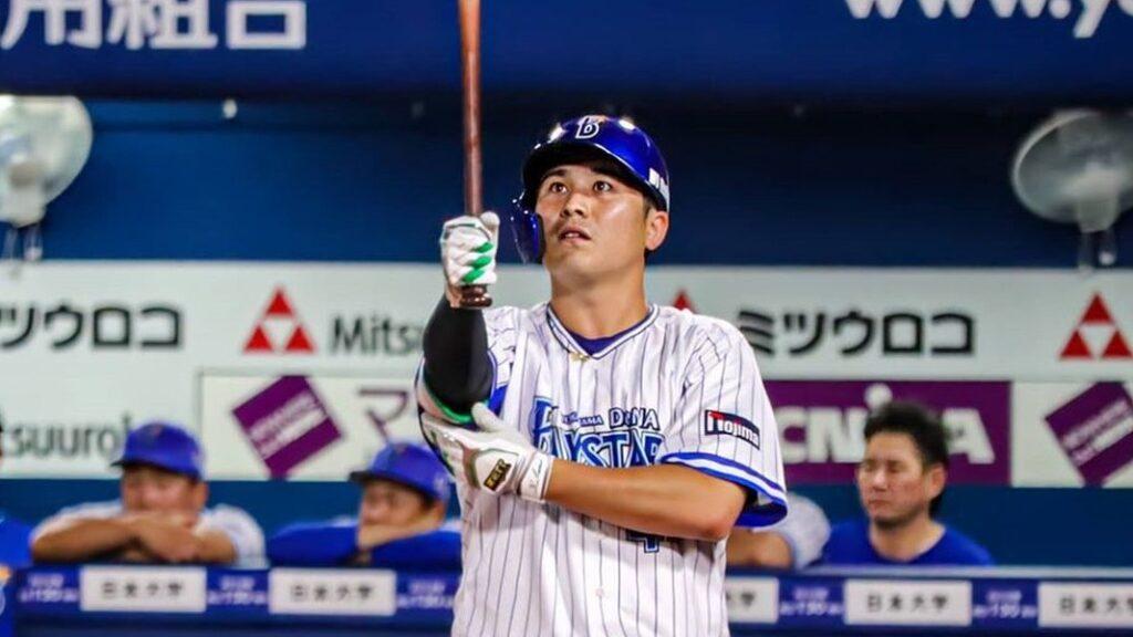 【ドラフト9位】佐野恵太(DeNA)とかいう日本で最も4番らしくないのに、最も活躍してる4番バッター