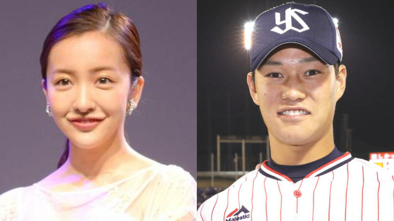 板野友美とヤクルト・高橋奎二が結婚★2