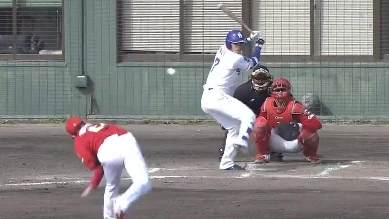 【動画】広島ドラ1栗林、球がエグすぎる