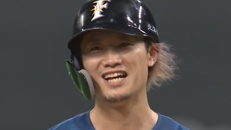 【朗報】日本ハム西川、メジャー挑戦ならずも侍ジャパン入り 稲葉監督「彼の出塁率やスピードは必要」