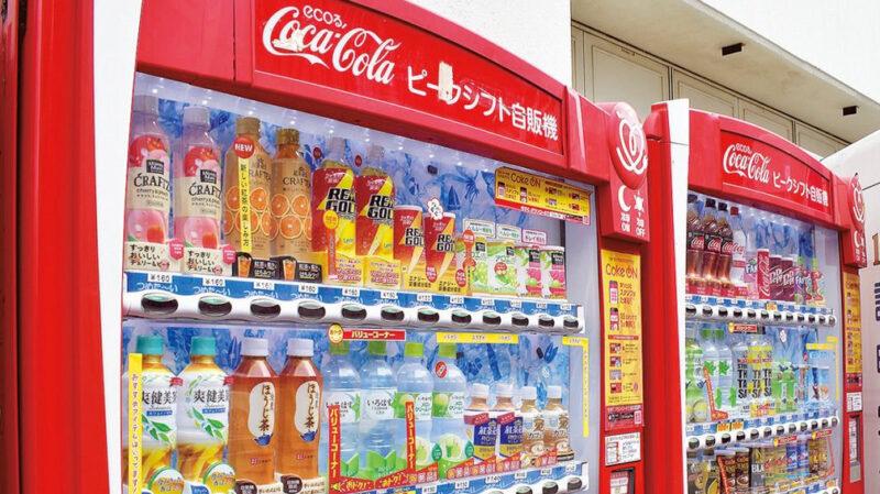 【朗報】コカコーラ、月1350円で自販機ドリンク飲み放題のサブスクを開始
