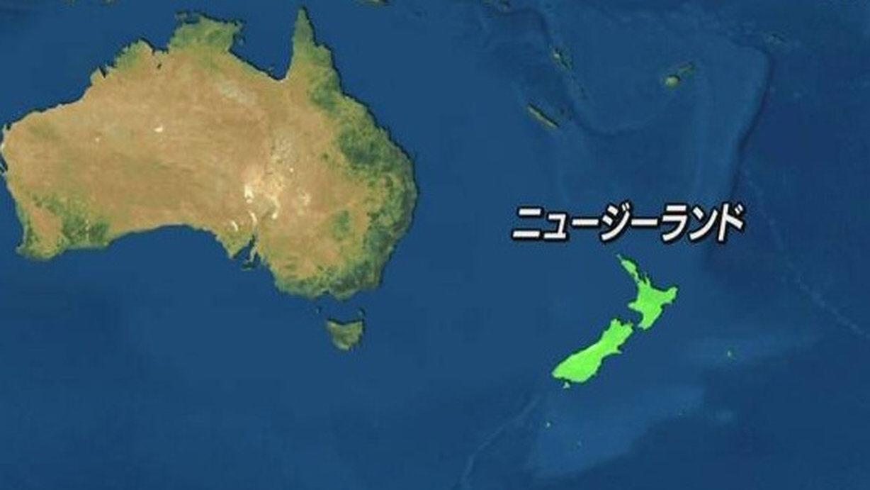 【速報】南太平洋(NZの近く)でM7.4の地震 ※先程の地震とは別