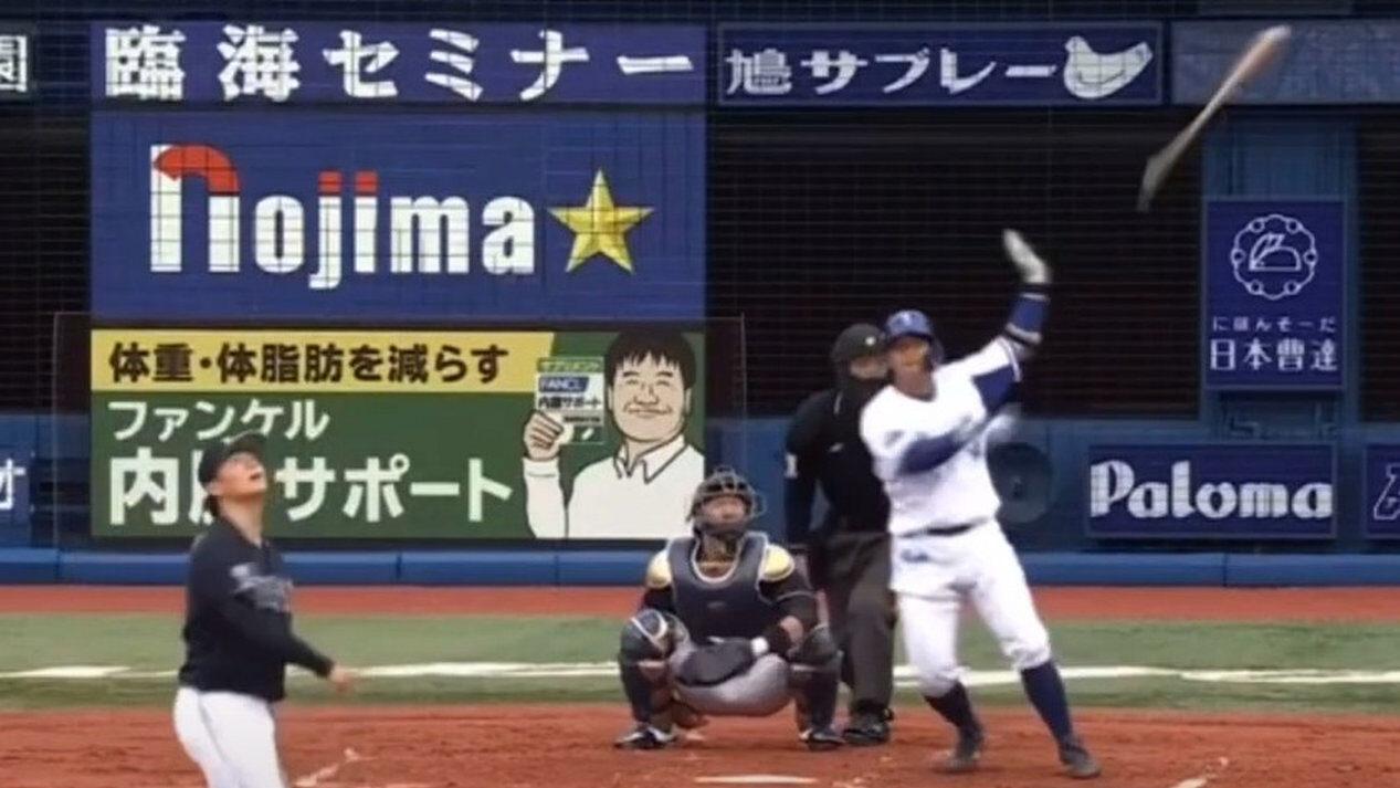 【朗報】DeNA嶺井さん、山本由伸からホームラン打ってしまう
