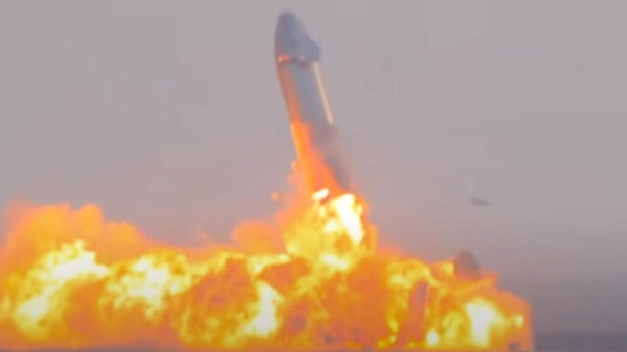 ZOZO前澤登場予定の宇宙船、爆発