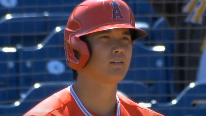 【朗報】大谷翔平、今日も元気に2打数2安打1四球で打率.636に