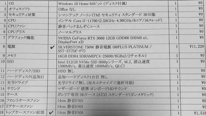 【悲報】ワイ、ゲーミングPC【RTX 3060】を18万で買ってしまう…