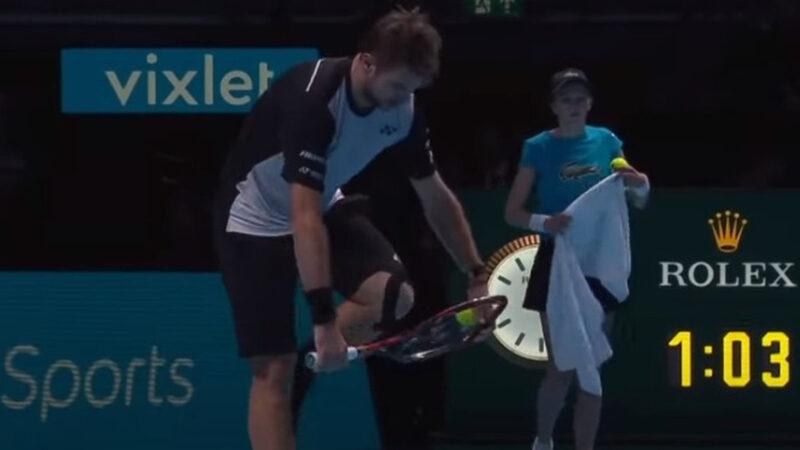 【悲報】プロテニス選手「ラケット壊す理由?スッキリするから」