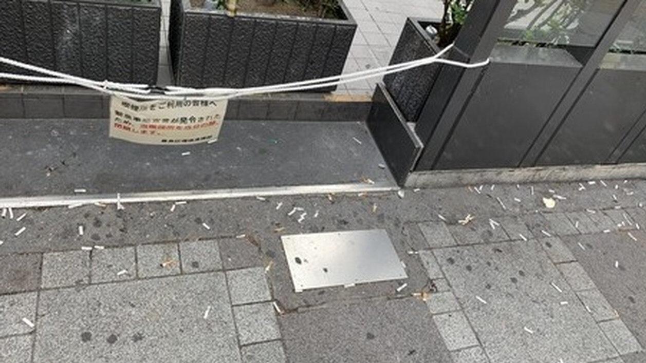 【悲報】「池袋の駅前喫煙所」を封鎖した結果