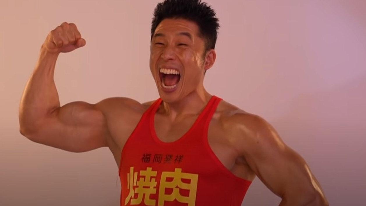 【朗報】なかやまきんに君、東京のボディビル大会優勝!パワー!