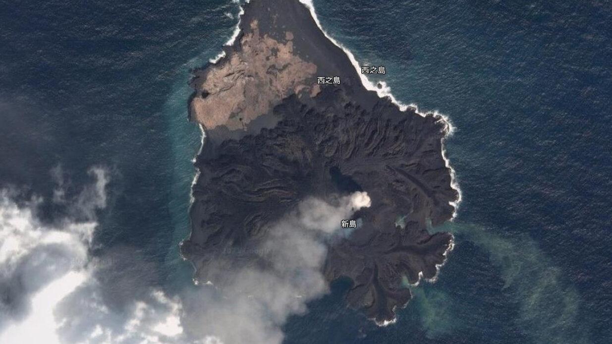 【朗報】 西之島さん、想像以上にデカくなってた!