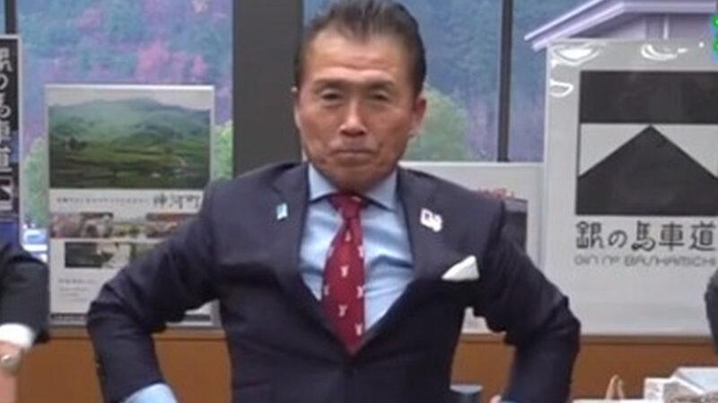 【悲報】兵庫県神河町の山名宗悟町長(62)、接種対象者でないのに初日にワクチンを打ってしまう