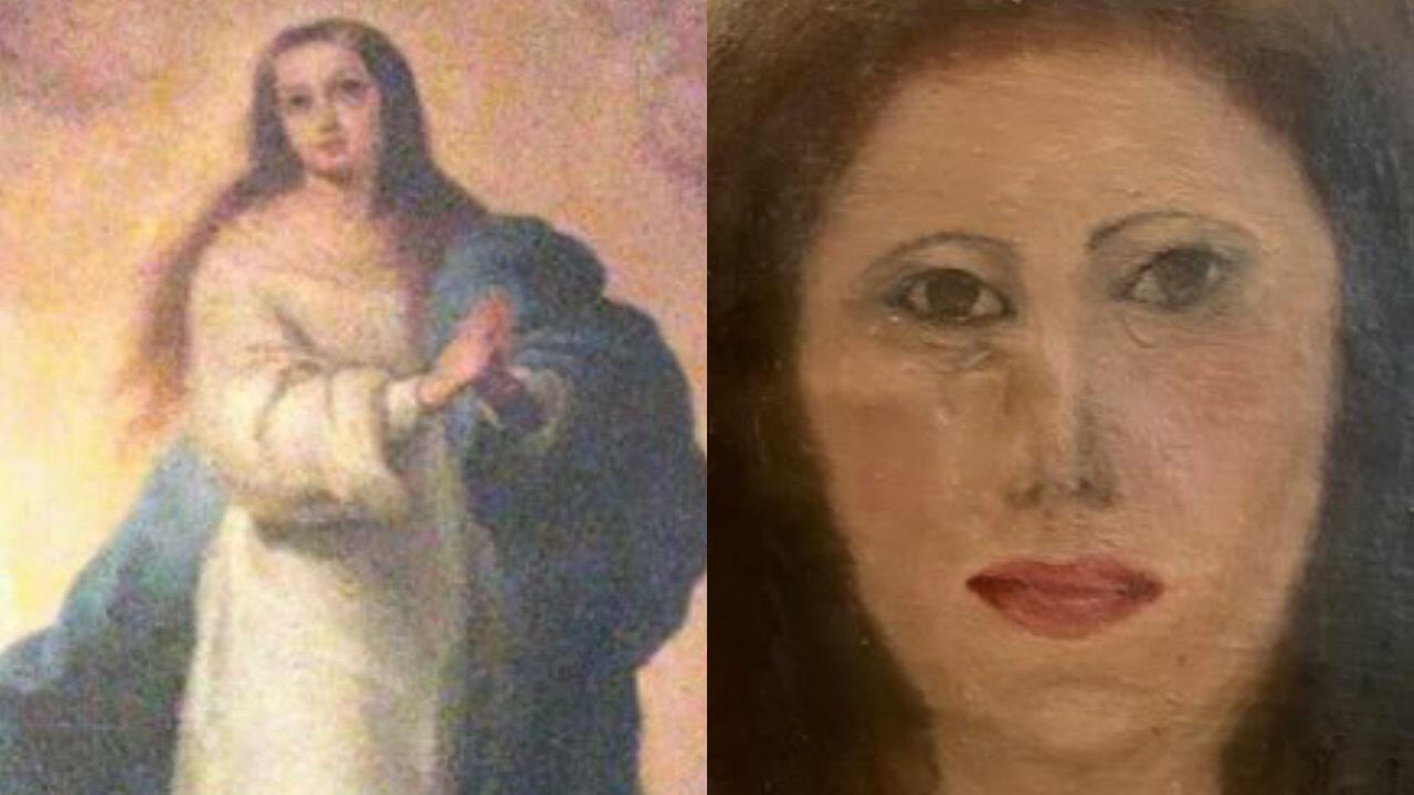 【悲報】有名絵画の修復、また失敗するw