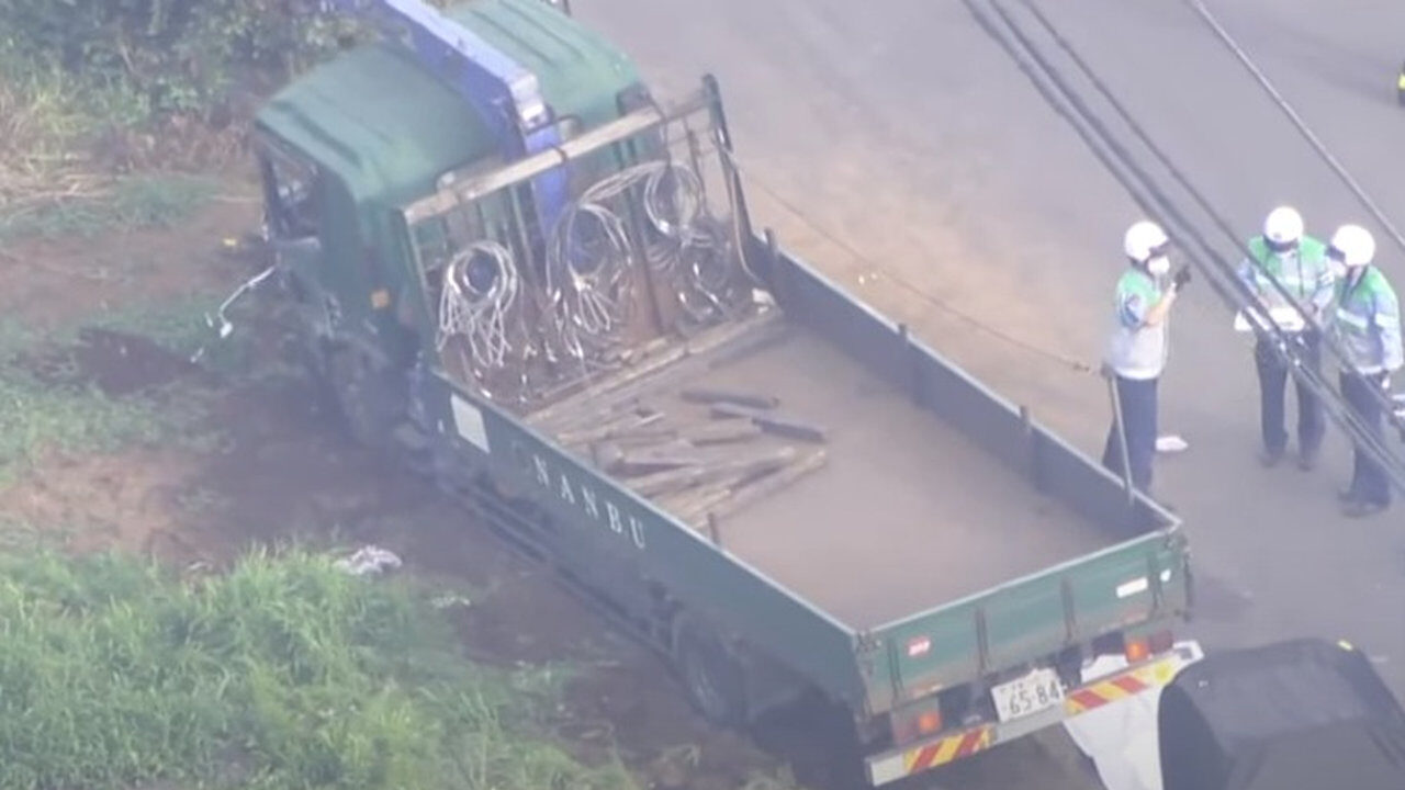 【千葉】八街で小学生の列にトラックが突っ込む!梅沢洋容疑者(60)逮捕、酒気検出