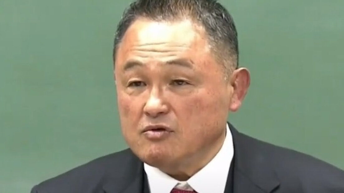 【JOC】山下泰裕会長「飛び込んでいない。頭の側面しか車両に当たってない」