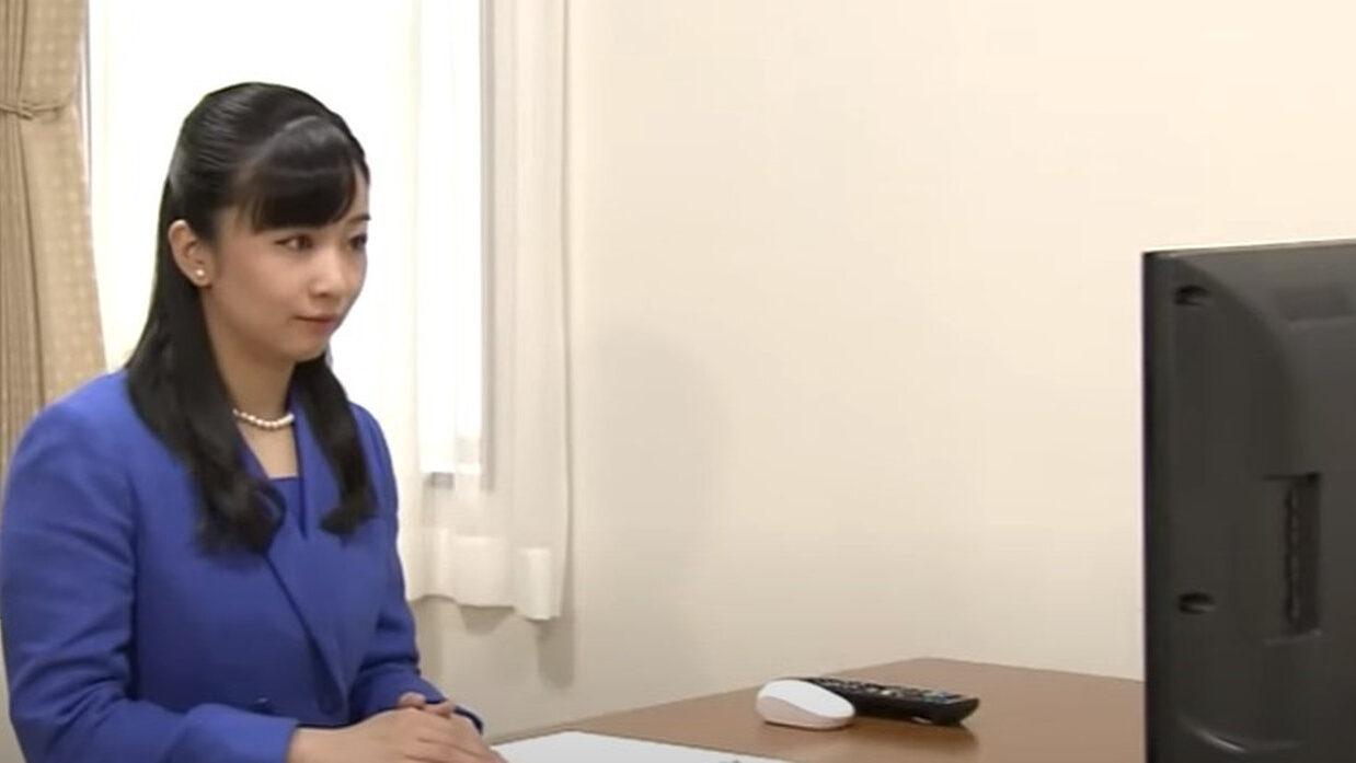 【皇室】佳子さま、リモートワークをなさる