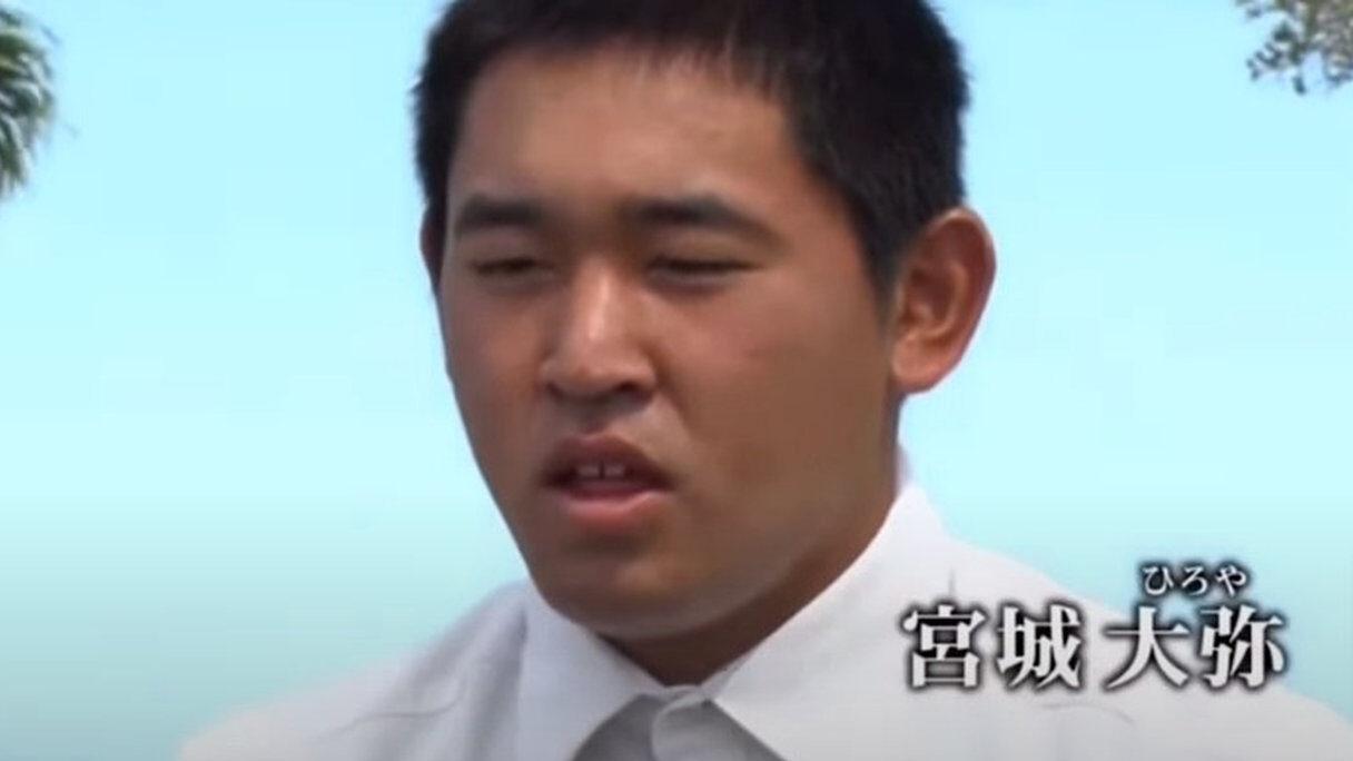 【画像】オリックス宮城大弥さん、坊主になるww