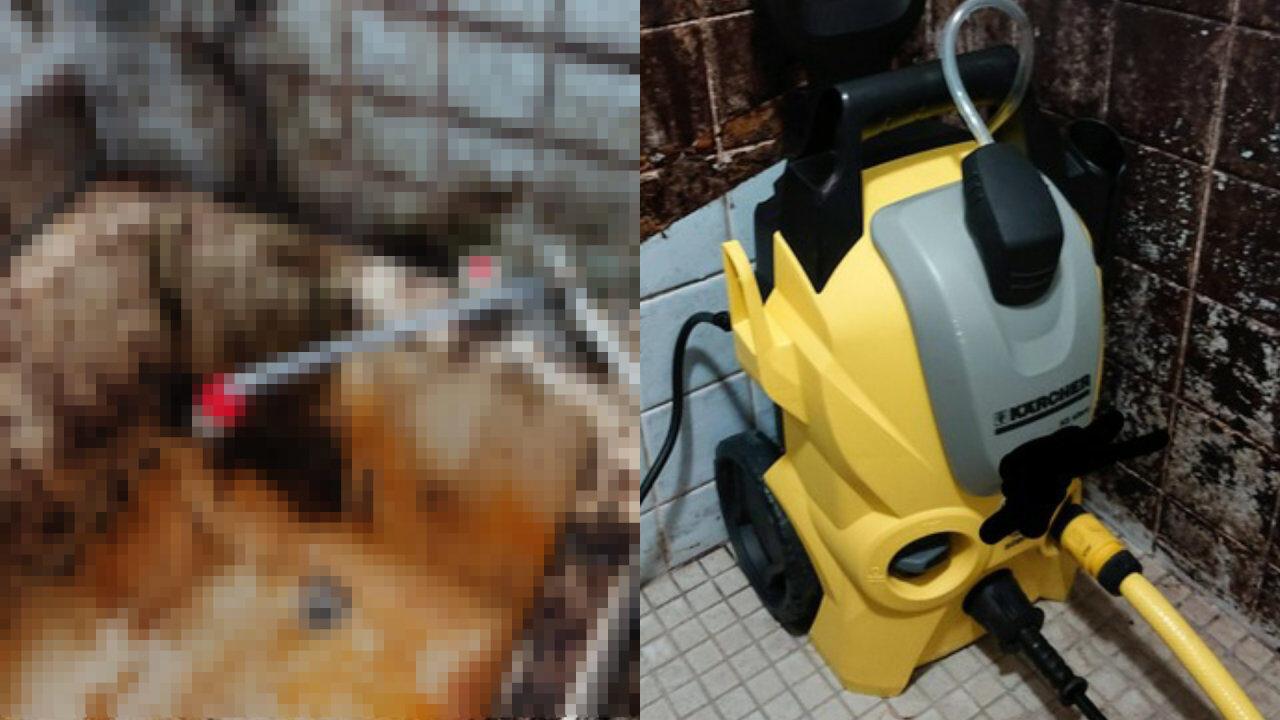 【朗報】汚風呂にケルヒャーが届いたから掃除する🤗
