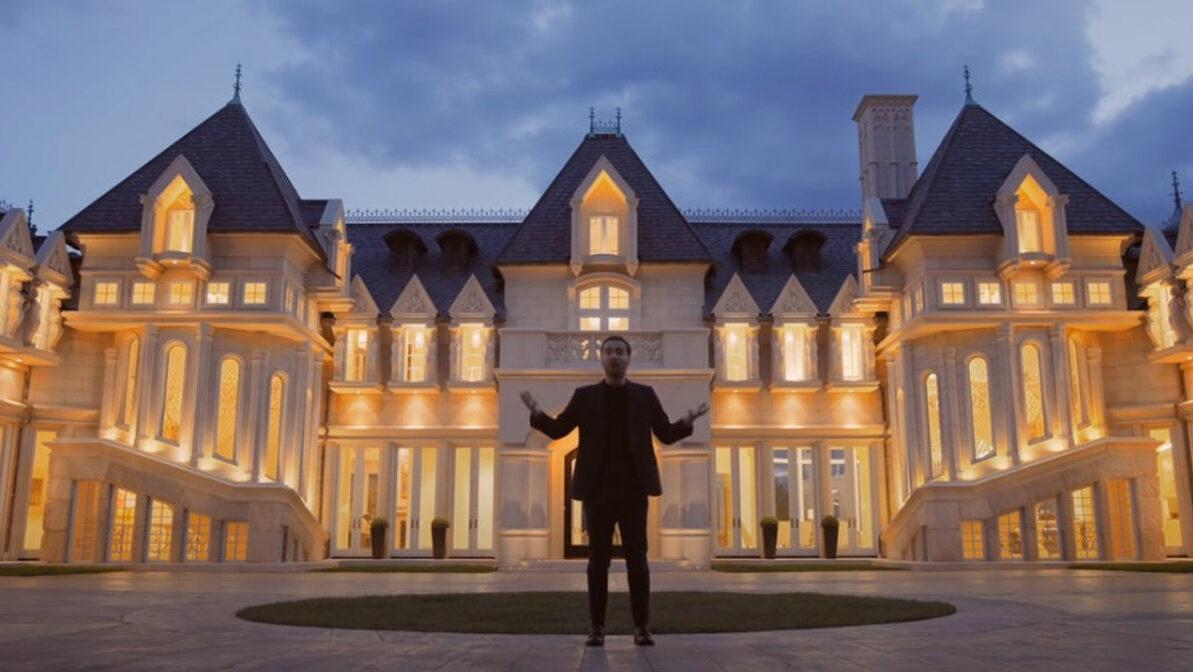 【画像】アメリカの12億円の家、マジでお城