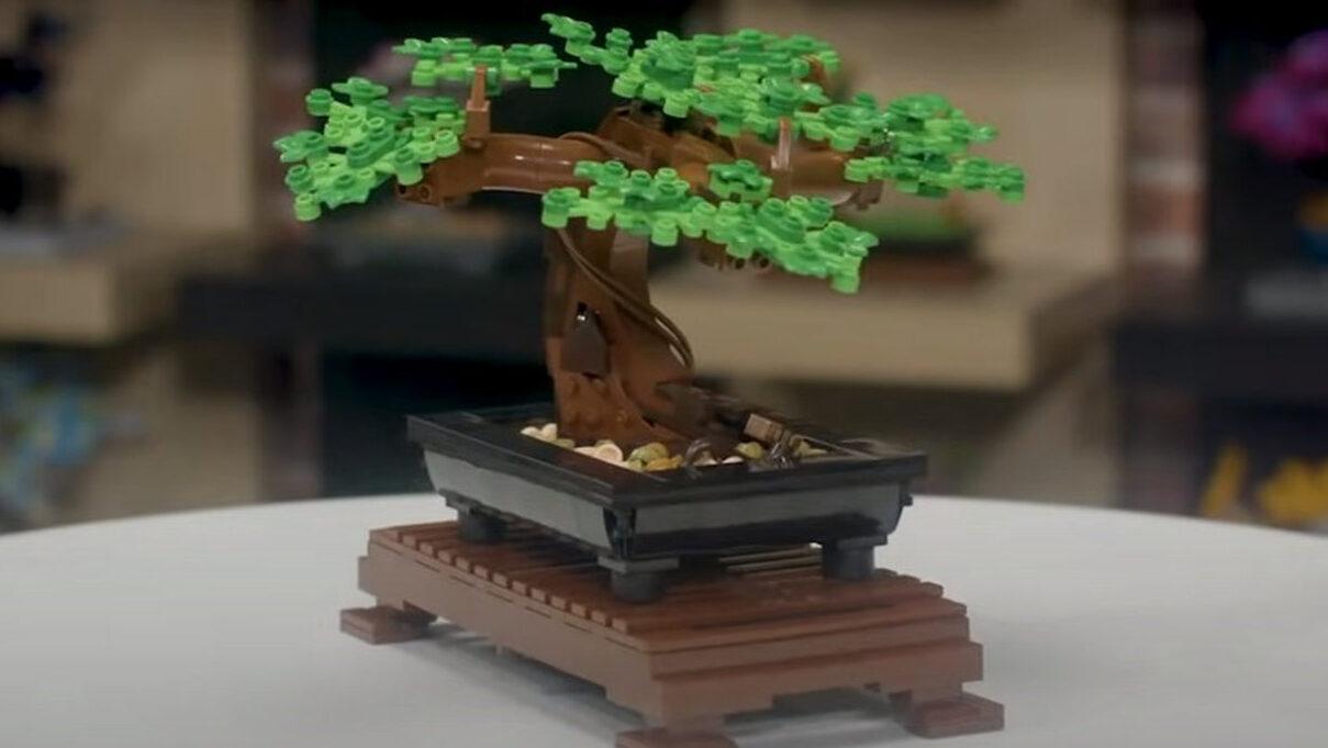 【悲報】レゴブロックの盆栽…
