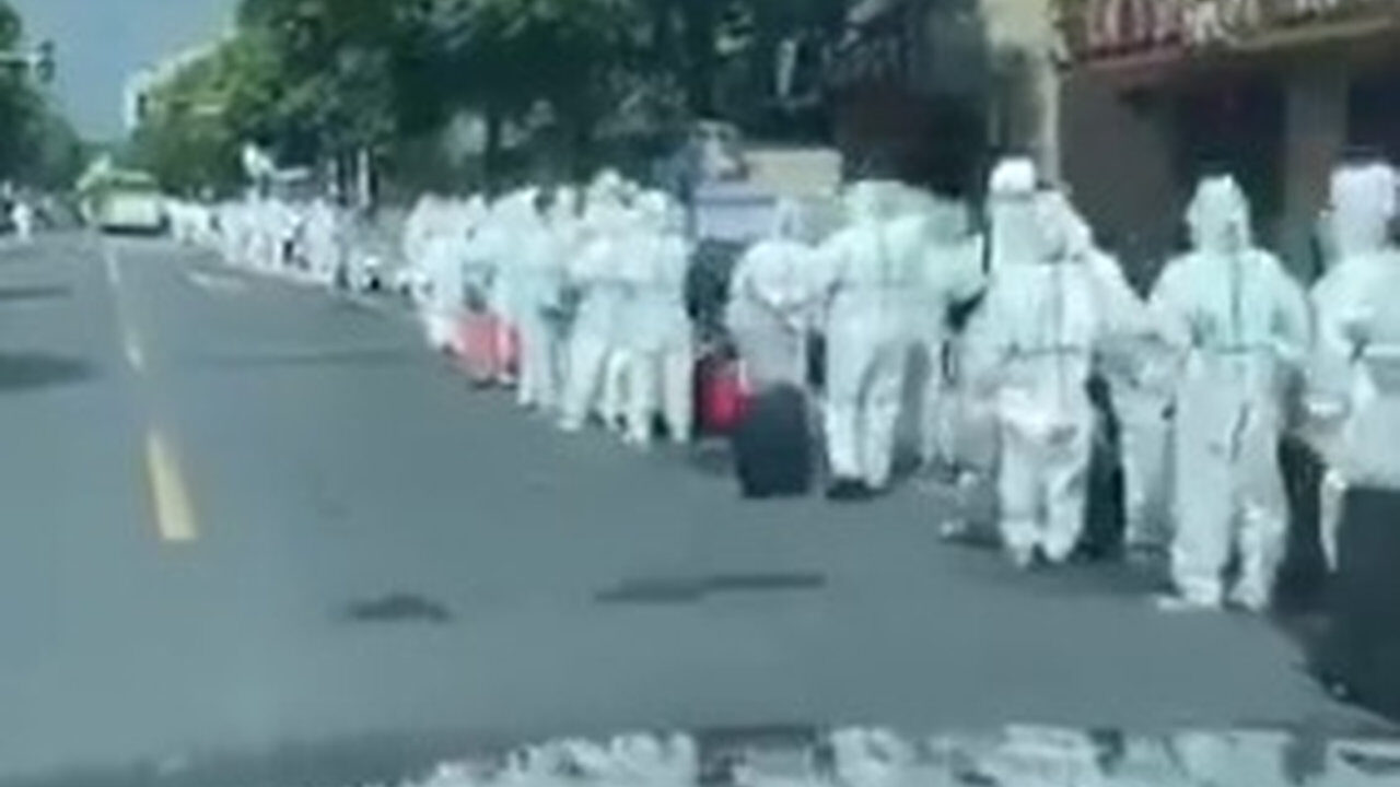 【動画】中国、明らかに異常事態が起きてる模様