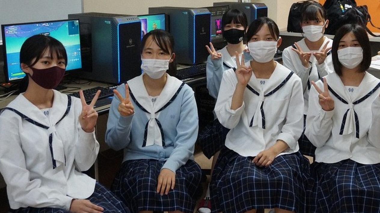 【朗報】仁愛女子高に「eスポーツ部」設立、フォートナイトの練習へ