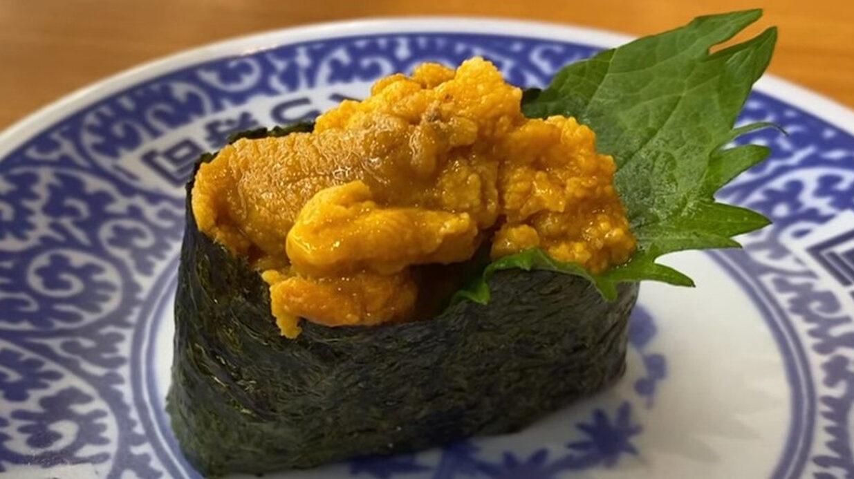 【朗報】くら寿司、ミョウバン不使用!厳選うに110円!